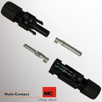 100 stuks Multi-Contact MC4 Male/ Female met Krimp contact,